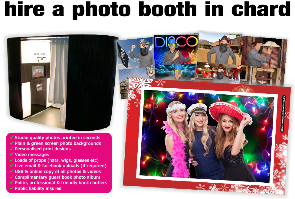 Photobooth & Photo Booth Hire, Chard, Somerset
